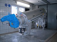 ROTAMAT® Screw Press RoS 3Q for sludge dewatering